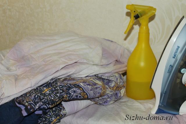 Как гладить постельное белье на гладильной доске