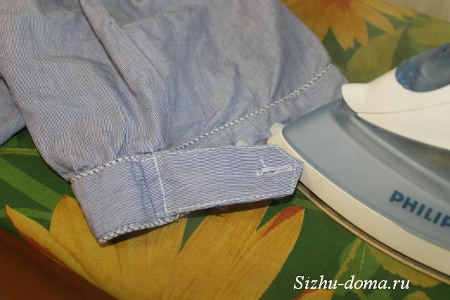 93e3e762cf2bc83 Как правильно гладить рукава мужской рубашки | Сижу дома