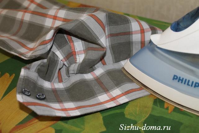 3e0da80c45768fe Как правильно гладить рукава мужской рубашки | Сижу дома
